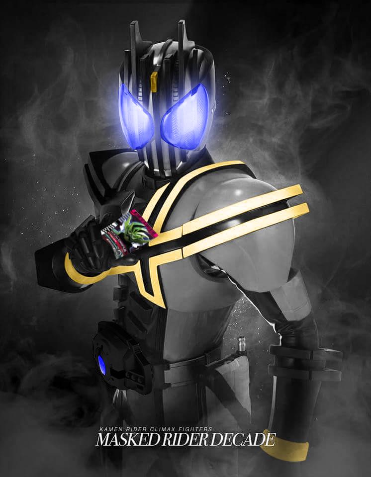 Climax Fighters: Kamen Rider Dark Decade by readingismagic ...