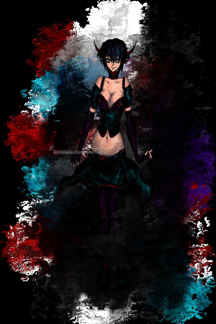 Demongirl by ByShieEm