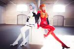 Ringa G and Surine - Rei and Asuka Plugsuits