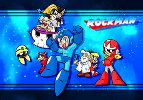 Happy 25, Rockman! by NkoGnZ