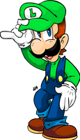 Luigi's time to a shine by NkoGnZ