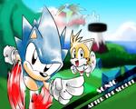 Fan Art of a Fan Game! Sonic ATS!