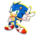 Sonic Peace Sign