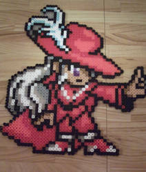 FF1 - Red Mage Perler by processofwinter
