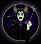 Sharon Needles Channeling Maleficent by dezignjk