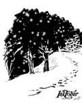 Inktober 2019: day 1 1 / Snow