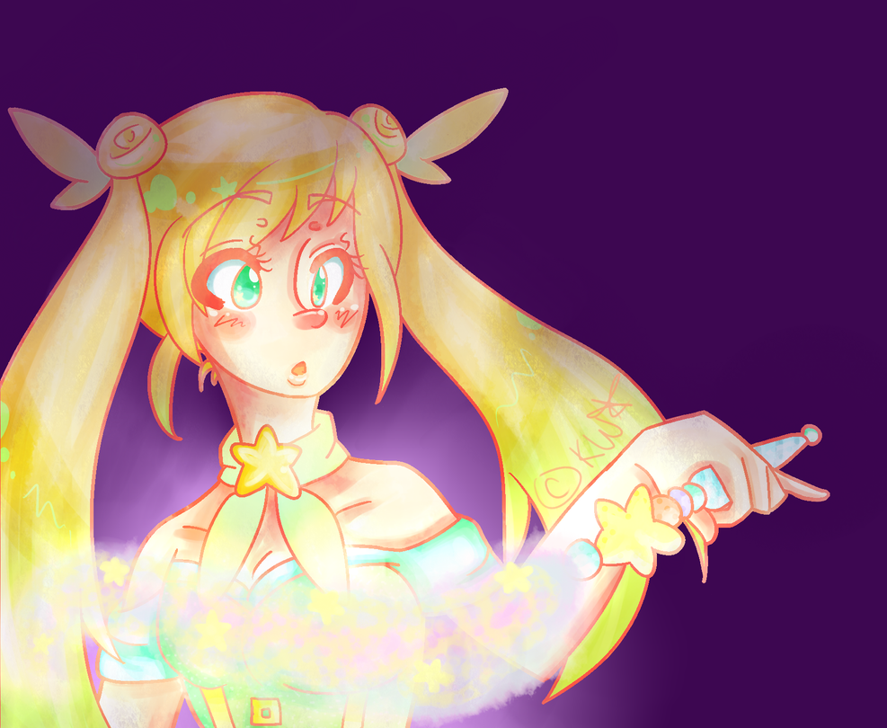 Nyo!England Magical Girl by black-feather1013
