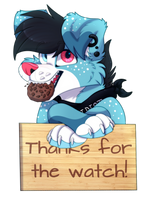 Cookie's Army Member Badge/Thanks For The Watch by xCaramelCookiex