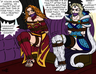 DID of the Ancients: Lina and Rylai by ShinBloodyTears