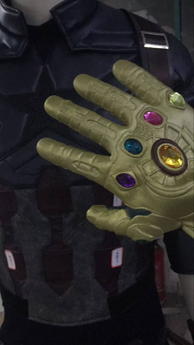Avengers Infinity War Captain America Costume by cosjj