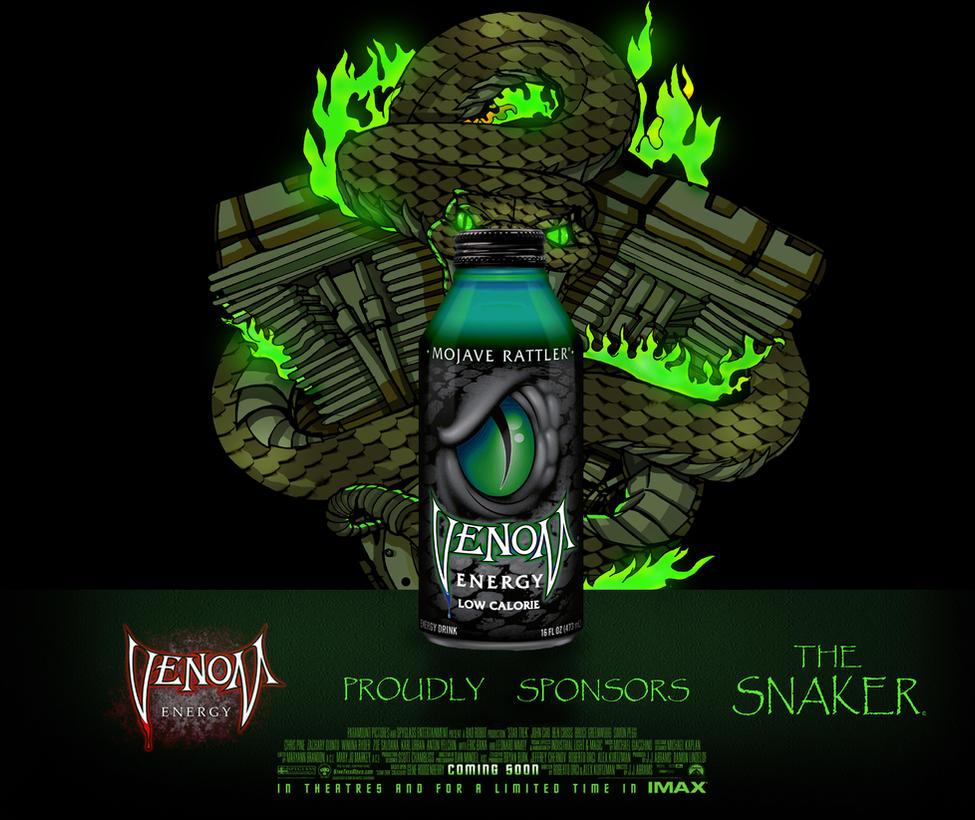 Snaker Logo Venom Advert by TRGART