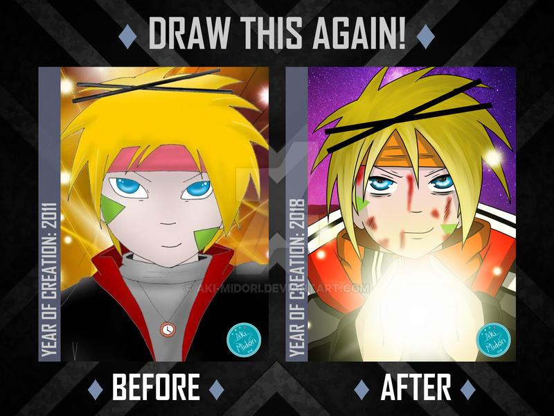Draw this again ~ Akira by Aki-Midori