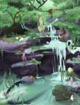[TWWM] mini waterfall