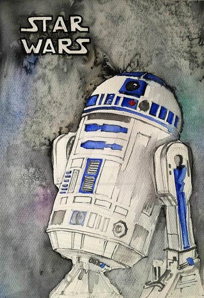R2-D2 by missclumsysamurai