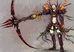 FEZ: Warrior -Blood Phantasma- by Xephyr26