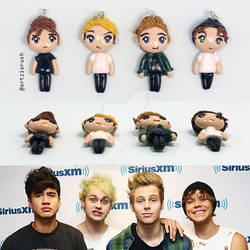 5 Seconds of Summer Chibis