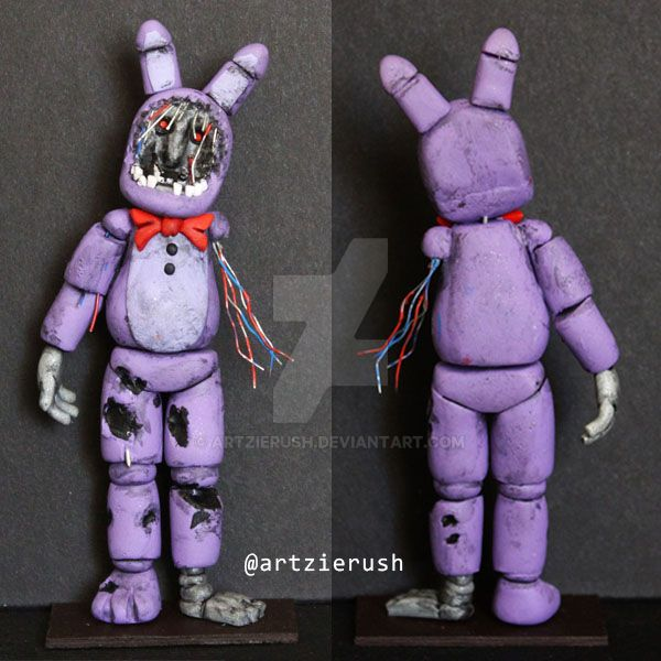 Withered Bonnie FNAF by ArtzieRush