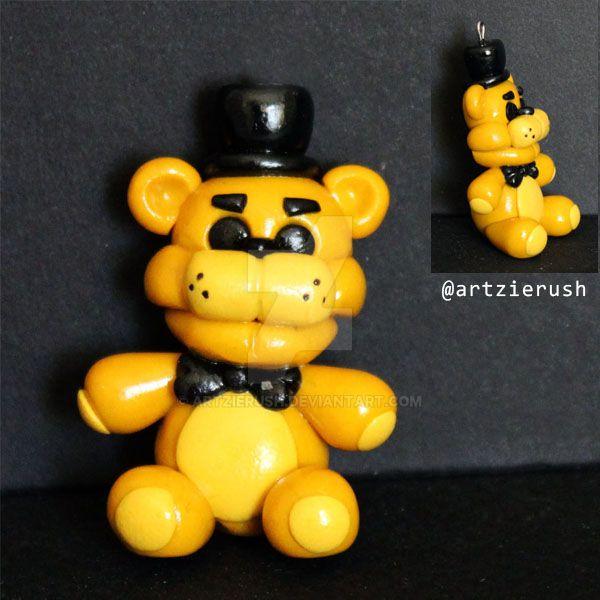 Golden Freddy Toy Plushy By ArtzieRush