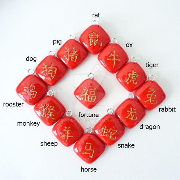 Chinese Zodiac by ArtzieRush