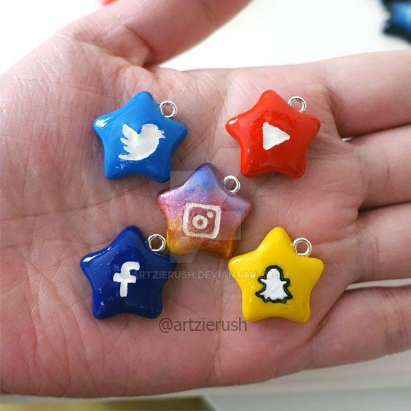Social Media Logo Stars by ArtzieRush
