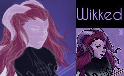 Wikked [Portrait] by justlikehim