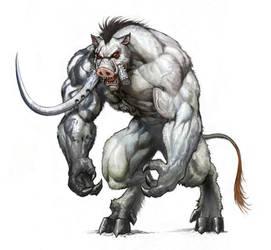 Daemon Boar - Standing