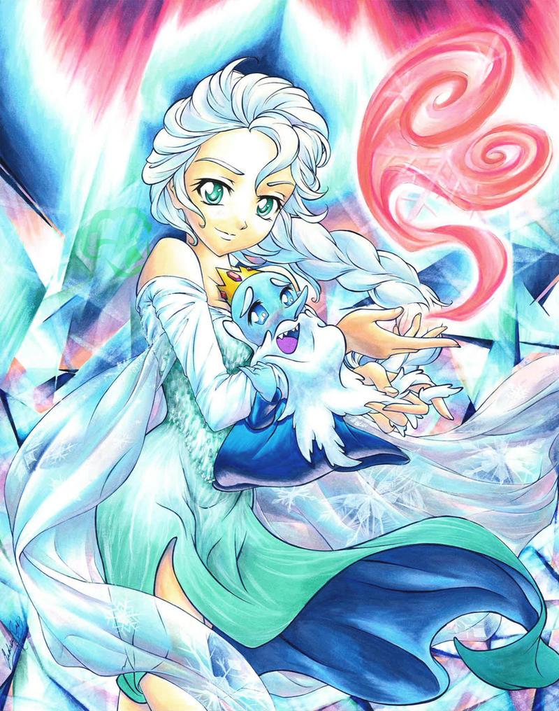 Elsa's Valentine by Muffyn-Man