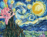 Commission: Pinkie's Starry Night