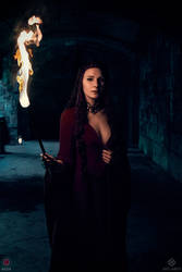 Melisandre Game of Throne by Rieek