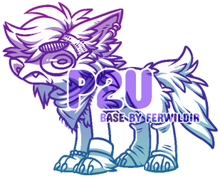 P2U Angsty Teen Base by Ferwild-Adoptables