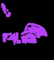 P2U Sleepy Pony Lineart by Ferwild-Adoptables