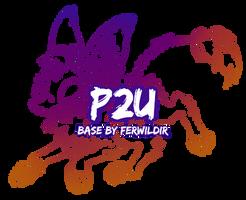 P2U SpoopyFox 2.0 Lineart