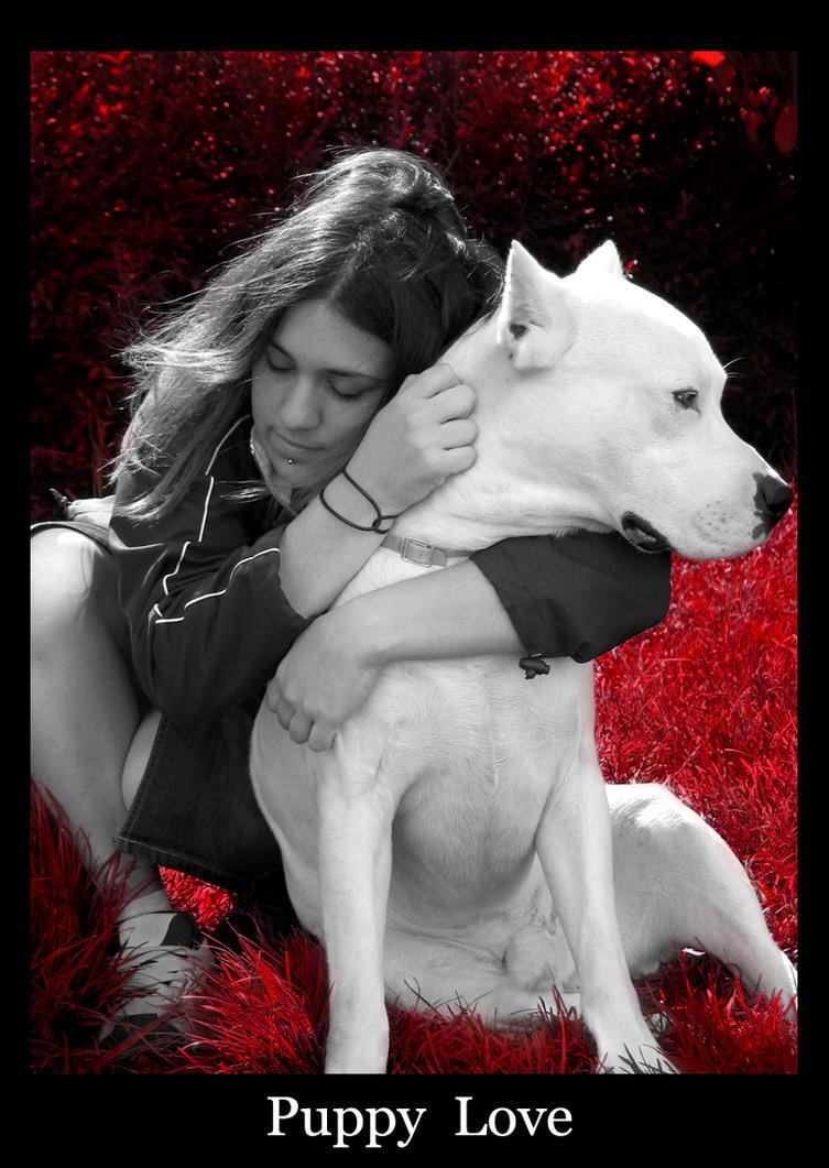 Puppy Love by papertigress