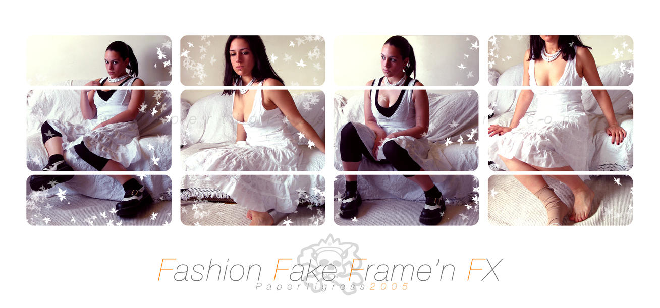 FashionFakeFrame by papertigress