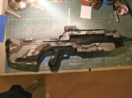 Halo 4 Battle Riffle by NEMESIS-01