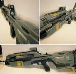 Halo 4 Battle Riffle finished