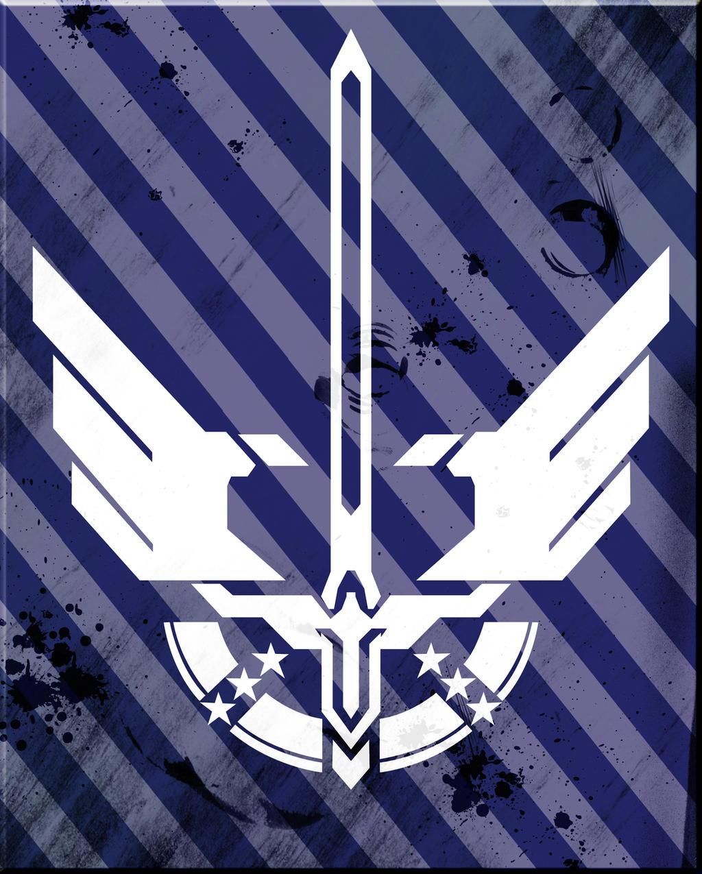 halo 4 sword armor logo by nemesis01 on deviantart
