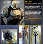 Destiny Iron Banner Cloak sale for charity (SOLD)