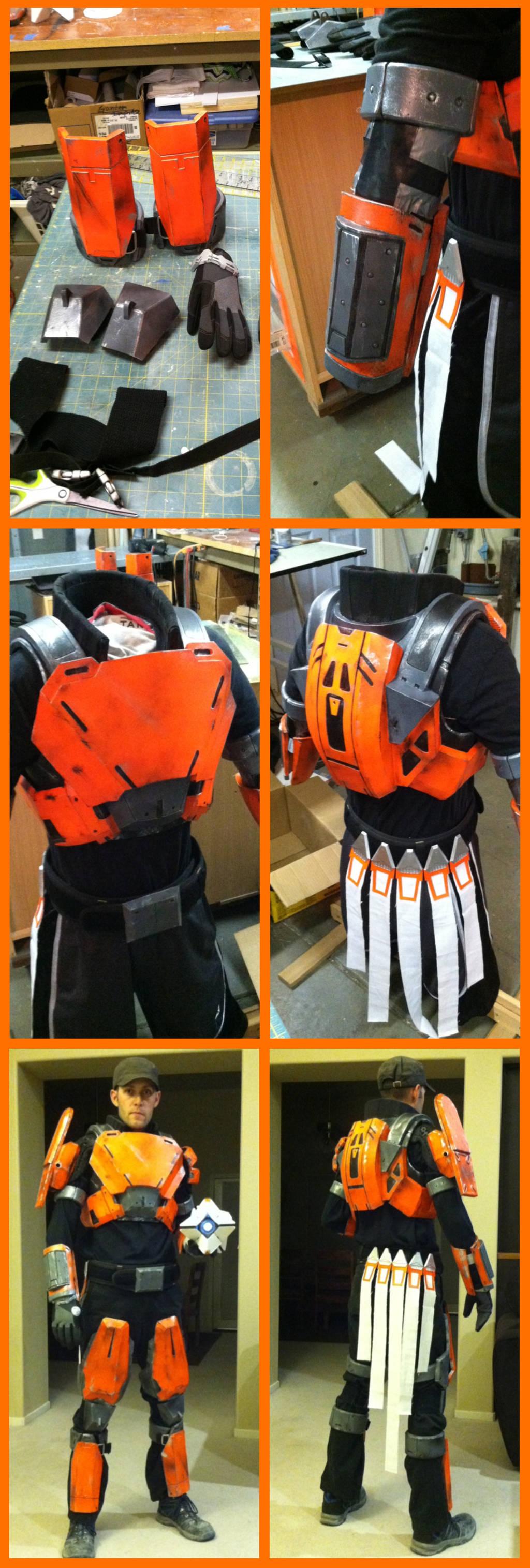 Destiny titan armor for sale by NEMESIS-01