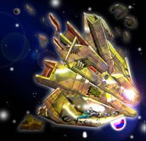 Asymetrik ship by NEMESIS-01