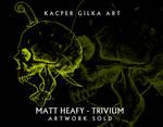 Skull - Artwork Sold to Matt Heafy TRIVIUM