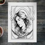 Eingana Goddess- Artwork For Sale