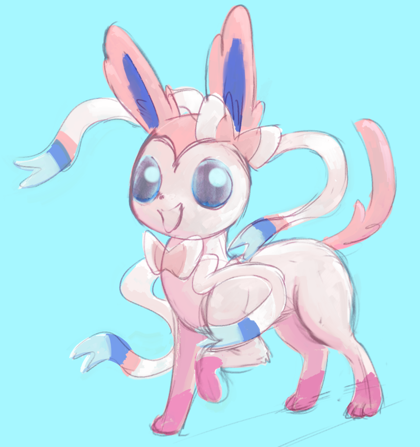 Sylveon1 by a6p