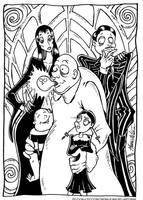 THE PICCIADDAMS FAMILY by PICCIONCINEMA