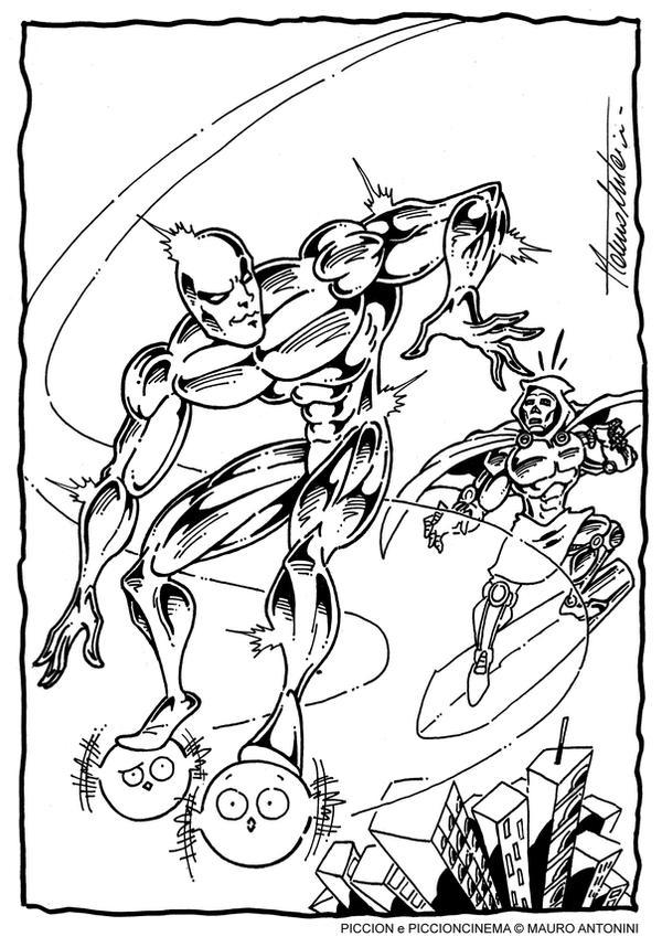 FANTASPICC FOUR - RISE OF THE SILVER PICCION by PICCIONCINEMA
