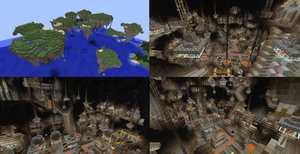 Minecraft Forge City/Floating Islands
