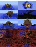 Minecraft Sea Turtle Island