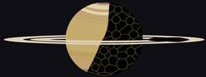 Colonized Saturn
