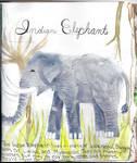 Indian elephant by Scruffles-sama