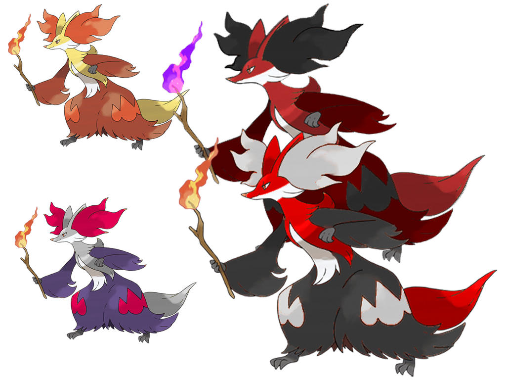 Delphox Shiny by EpicGordoMan on DeviantArt